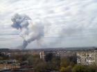 В Донецке произошел мощный взрыв на химзаводе (видео)