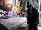 Видео последствий очередного обстрела Авдеевки