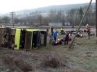 На Львовщине столкнулись туристический автобус с белорусами и легковушка, есть погибшие