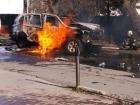 В Мариуполе взорвали полковника СБУ (фото, видео)