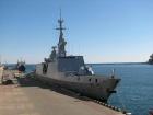 В Одессу прибыл фрегат «Ла Фаетт» ВМС Франции