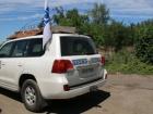 На оккупированной Луганщине взорван автомобиль ОБСЕ, есть погибший