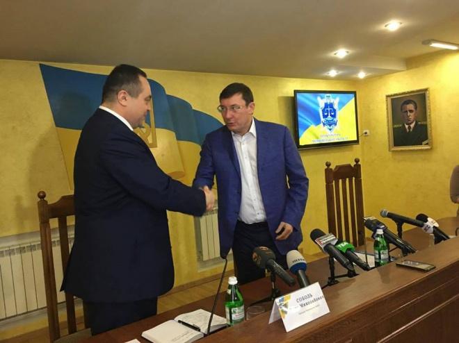 Прокуратуру Черновицкой области возглавил Олег Соболь - фото