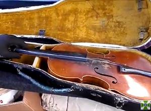 В Донецк пытались провести скрипку Страдивари, - Госпогранслужба - фото