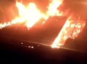 В Киевском СИЗО произошел пожар (видео) - фото