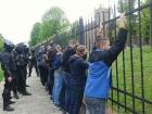 Во Львове произошла массовая драка футбольных фанатов