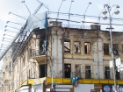 КГГА: владелец сгоревшго памятника архитектуры на Крещатике должен восстановить здание
