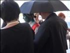 В Одессе Королевскую облили зеленкой (видео)
