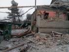 В результате обстрела Марьинки ранены два местных жителей