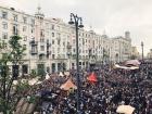В России жестко задержали более тысячи участников мирного протеста