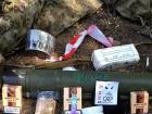 Отступая, боевики оставили российское снаряжение и сухпайки