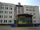 В Броварах на сцене разместили карту Украины без Крыма и Донбасса