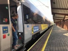 Поезд Интерсити отказался ехать в Украину вместе с Саакашвили