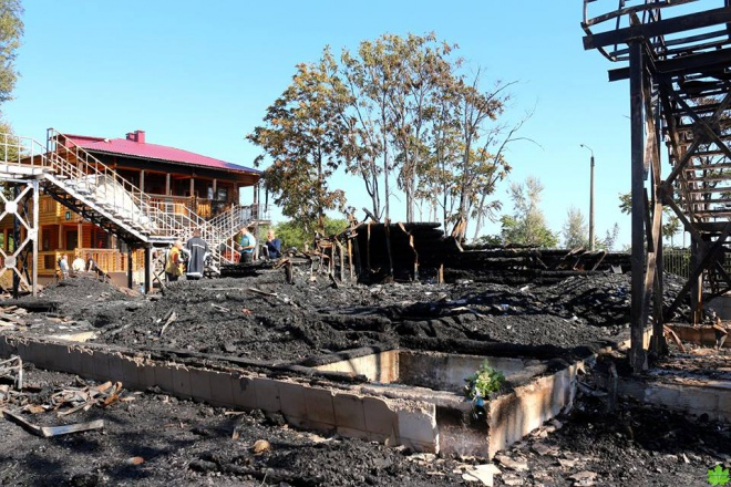 Пожар в дет. лагере в Одессе: подозрение объявлено двум лицам - фото