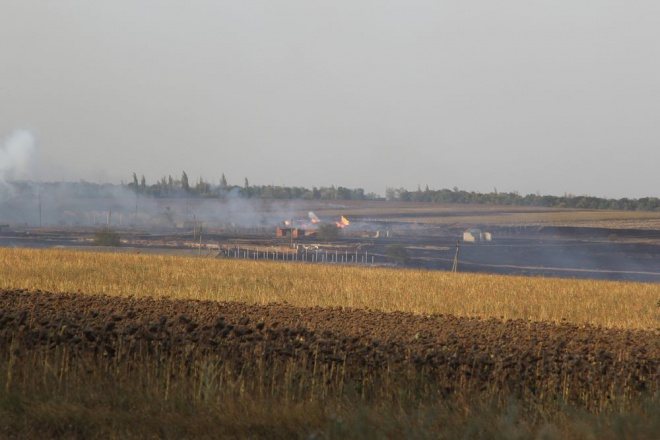 В «ЛНР» боевики случайно совершили пожар ивзорвали русские боеприпасы