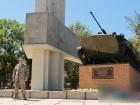 В Луганске в очередной раз взорвали памятник боевикам