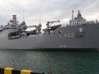 В Одессу прибыл десантный корабль ВМС Турции
