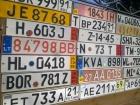 В Украине находится 64 тыс автомобилей с «бляхами» с нарушением срока