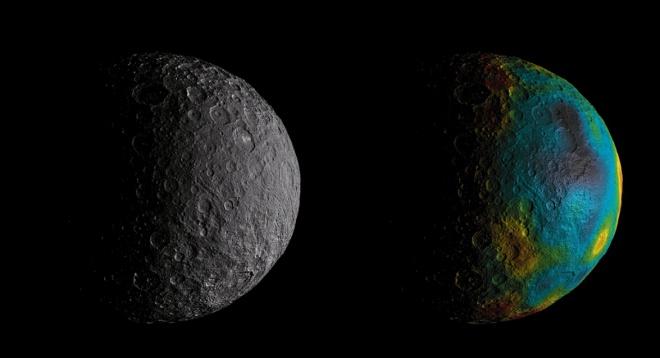 Церера раньше была покрыта океаном, считают ученые - фото