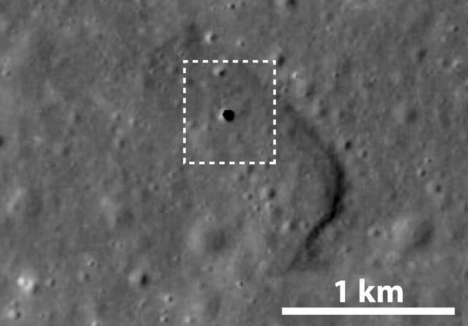Подходящее место для жизни наЛуне отыскали астрофизики