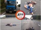 В Киеве женщина бросилась под грузовой автомобиль