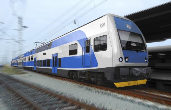 Двухэтажный высокоскоростной поезд начал курсировать изТернополя встолицу Украины