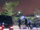 Охрана кума Путина напала на журналистов возле аэропорта Киев