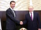 Путина посетил Асад из Сирии