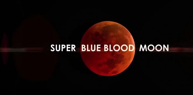 31 января будет наблюдаться очень редкое тройное явление с Луной - фото