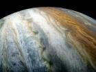Красочные пояса облаков на Юпитере