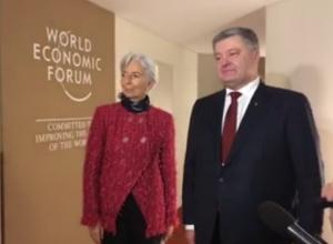 Лагард во время встречи с Порошенко призвала к ускорению реформ в Украине - фото