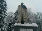 На Львовщине отбили голову от памятника Шевченко