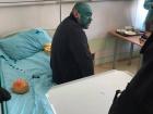Титушковода Крысина нашли в детском отделении больницы. Покрасили лицо зеленкой