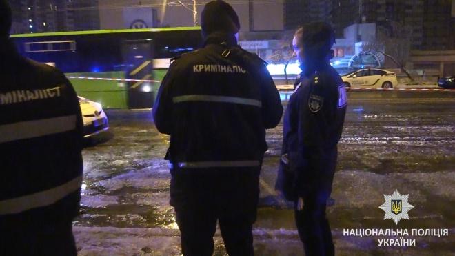 В Киеве пытались подорвать патрульных (видео) - фото