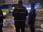 В Киеве пытались подорвать патрульных (видео)
