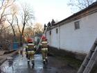 23 огнеборца тушили пожар в Киевском зоопарке