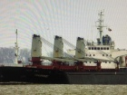 Арестовано судно российской компании, которая ворует у Украины песок