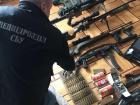 Большое количество оружия изъяли правоохранители в Одессе накануне праздников