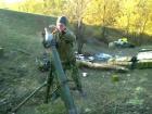 В Пасху оккупанты применяли тяжелое оружие, ранены 5 защитников