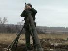 Вчера оккупанты применяли тяжелое оружие, погиб защитник