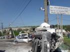 В Днепре грузовик протаранил более 10 автомобилей, есть жертва