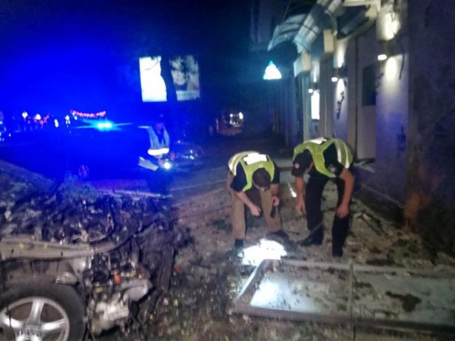 В Одессе взорвалось авто: ранен директор охранной фирмы - фото
