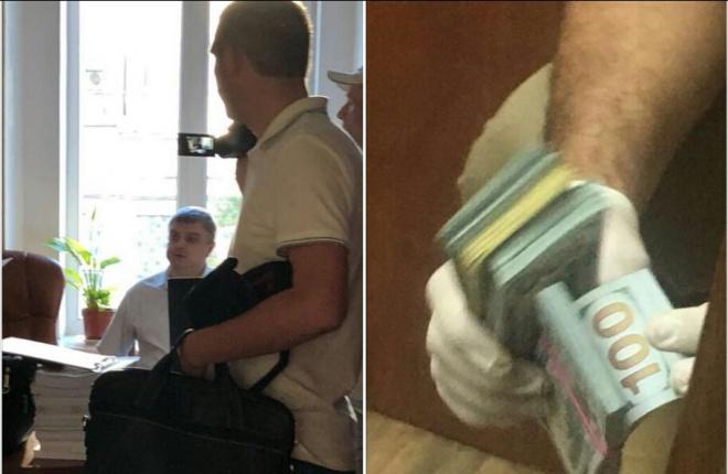 На взятке задержан старший следователь ГПУ - фото