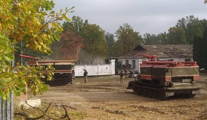 Минобороны: пожар на 6 арсенале полностью ликвидирован - фото