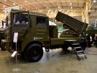 Презентована новая боевая машина «Берест» с системой залпового огня