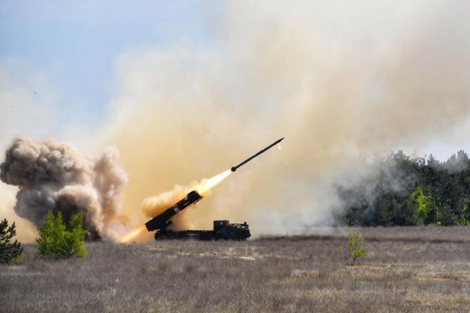 Украина взяла на вооружение ракетный комплекс «Ольха» - фото