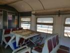 Вандалы разгромили вагон электрички «Фастов-Киев»