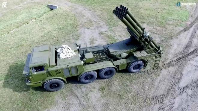 ВСУ получили новую партию отремонтированных РСЗО «Ураган» - фото