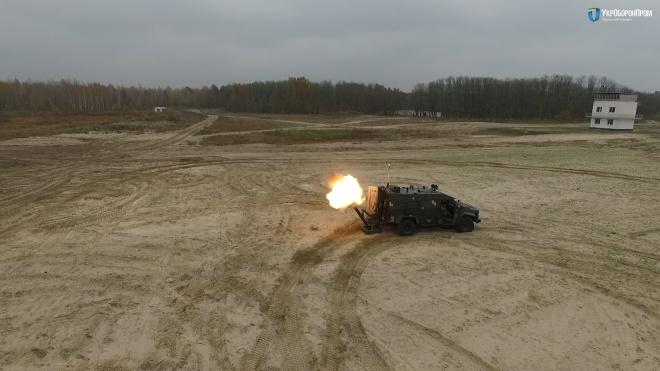 Мобильный минометный комплекс «Барс» успешно прошел очередные испытания - фото