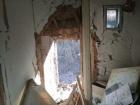 Оккупанты уничтожили два жилых дома в Пивденном